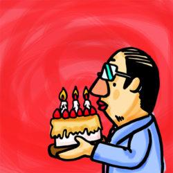 (日本語) お誕生日おめでとう。