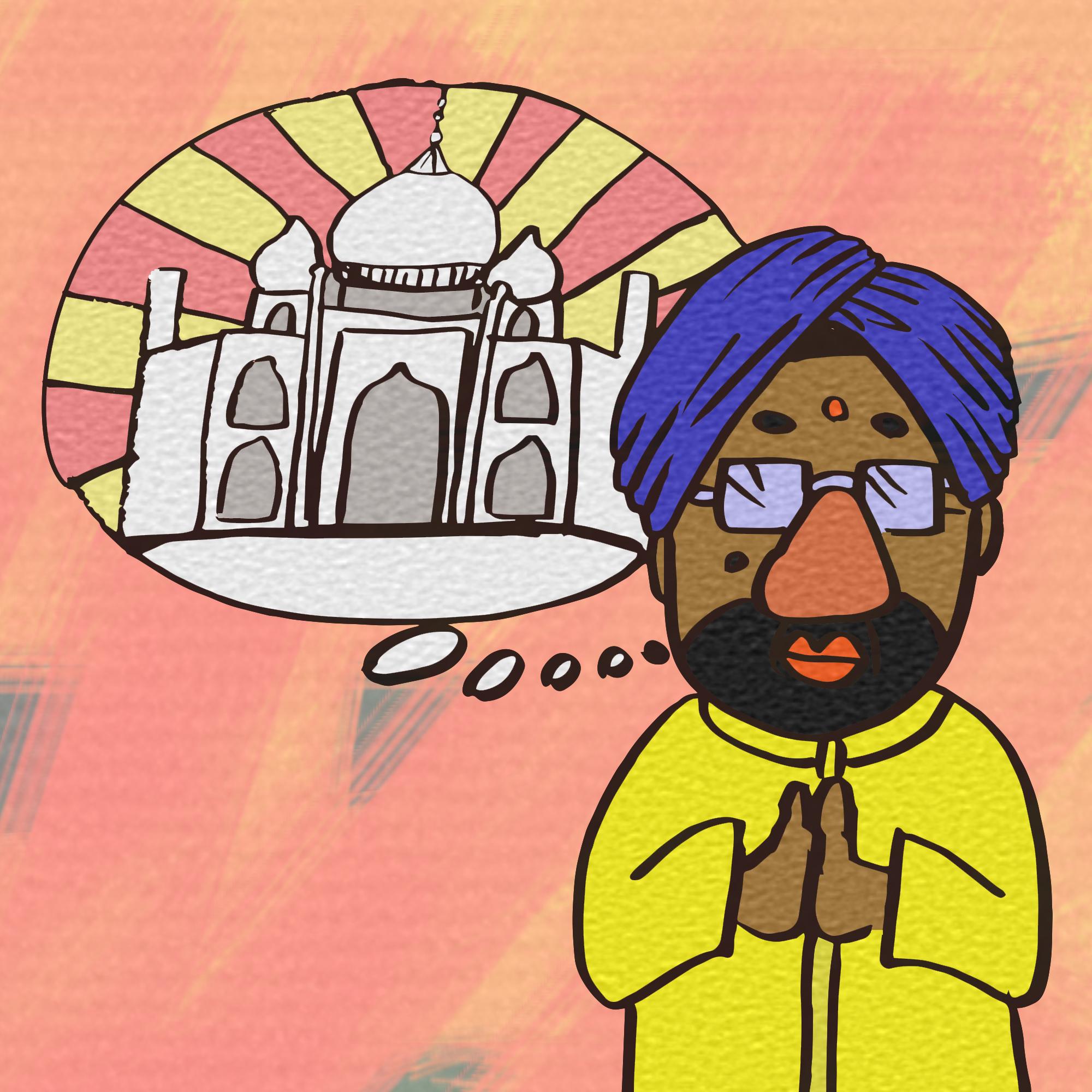 知ってましたか?ホーチミンにインドがありました。